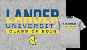 Lander University shirt