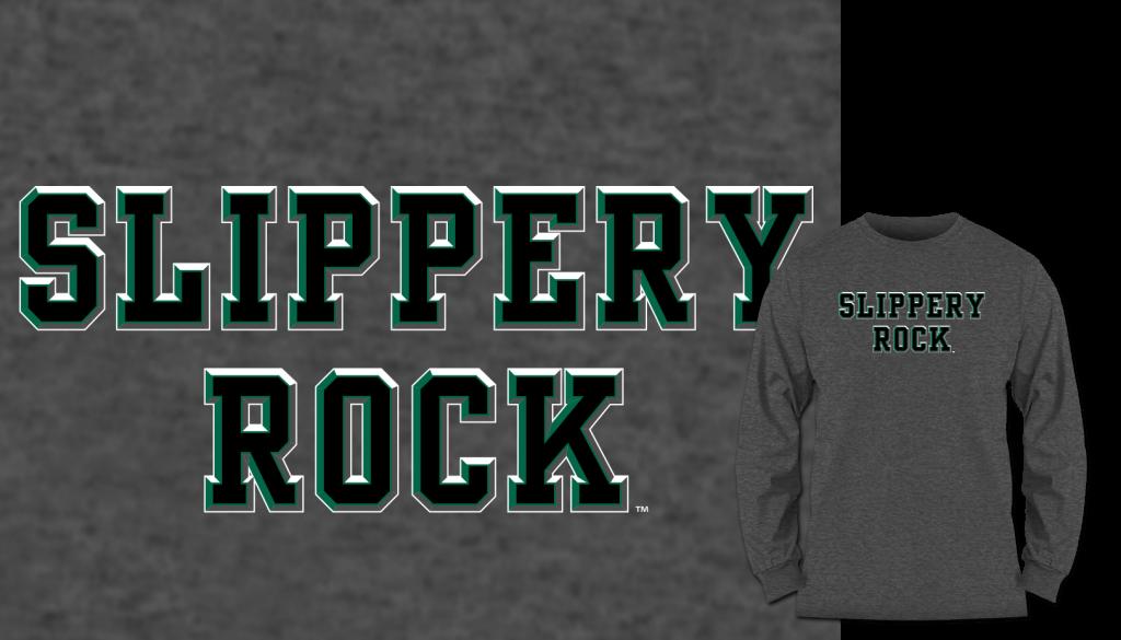Slippery Rock long sleeve shirt