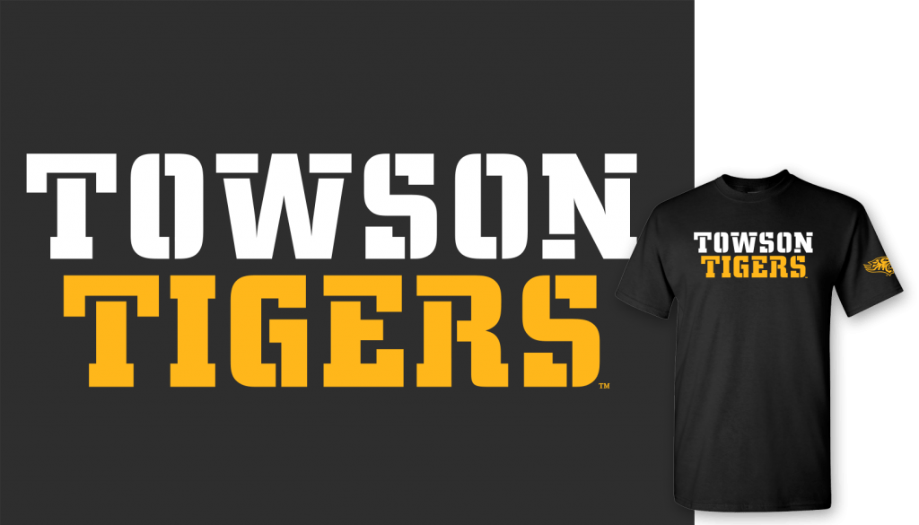 Towson Tigers shirt