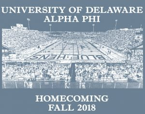 alpha phi, homecoming, greek apparel, greek life, sorority, fraternity, football