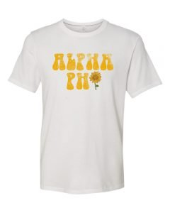 alpha phi, t-shirt, greek apparel, sorority apparel, greek week