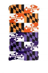 baltimore, face mask, orioles, ravens, gaitor, face protection