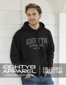 collegiate, college, msp, eighty8, apparel, design