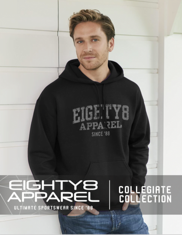 collegiate, college, msp, eighty8, apparel, design